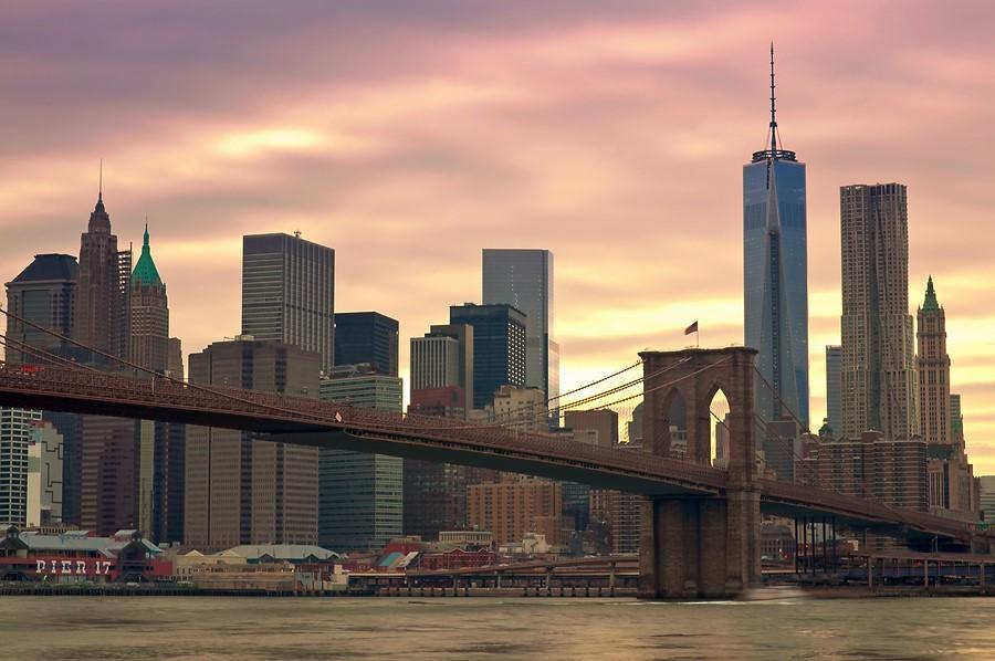 Фотообои Мост Бруклина