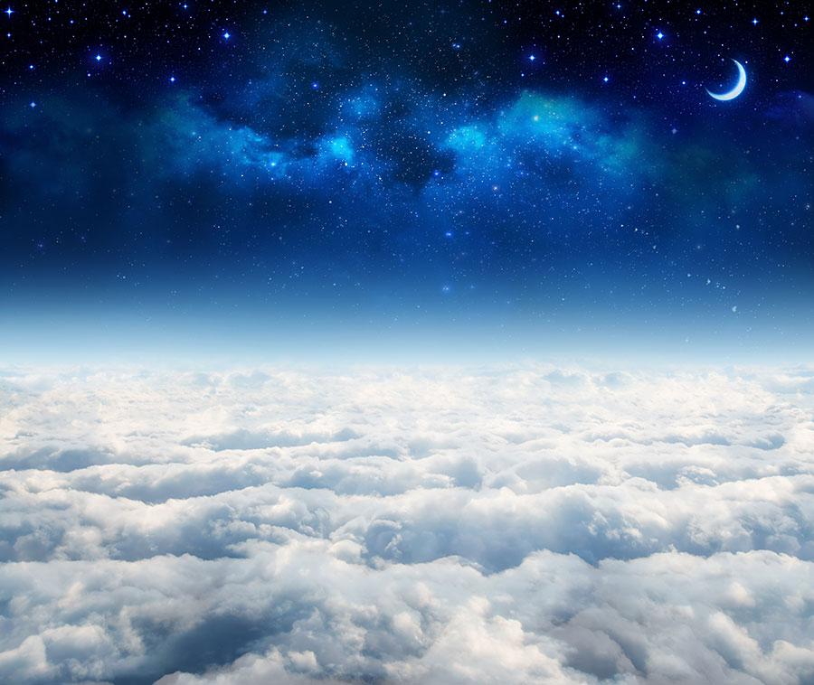 Фотообои Над облаками