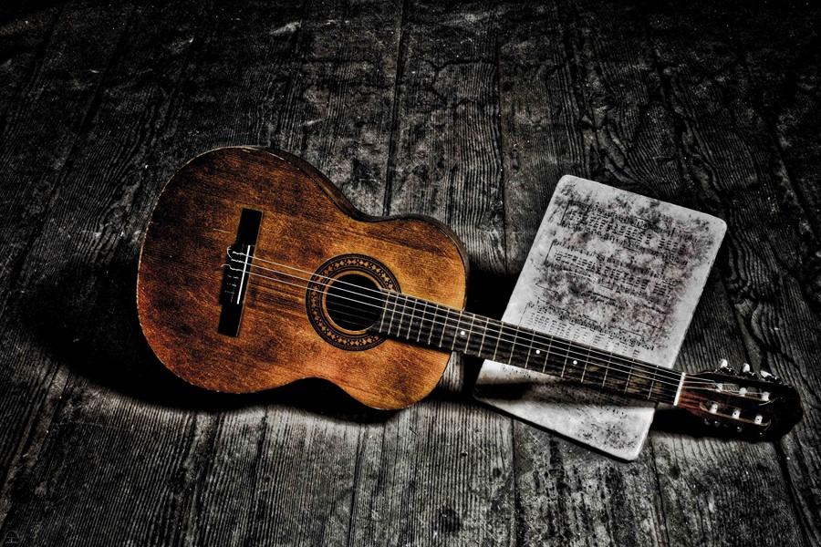 Фотообои Акустическая гитара