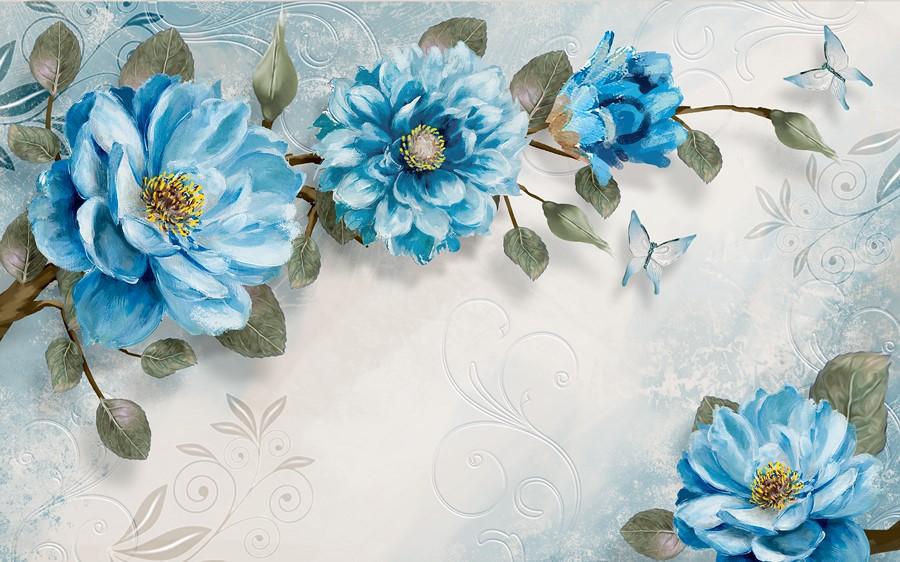 Фотообои Декоративные цветы