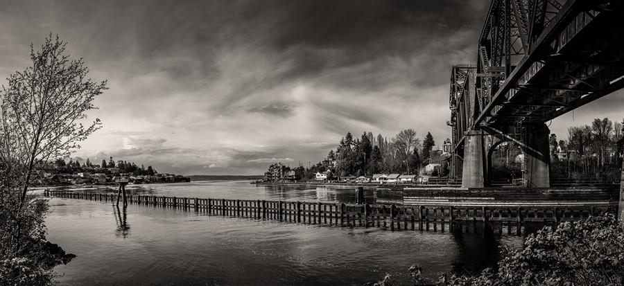 Фотообои Озеро Лох