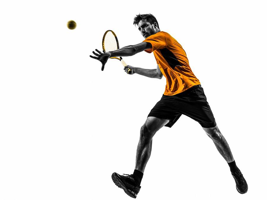 Фотообои Теннисист
