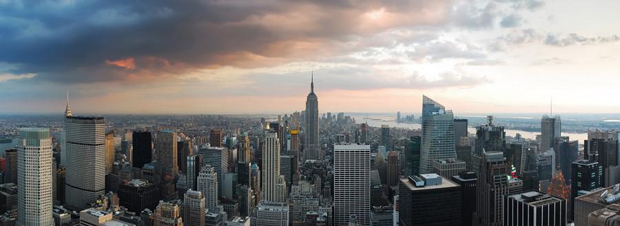 Фотообои Нью-Йорк панорама