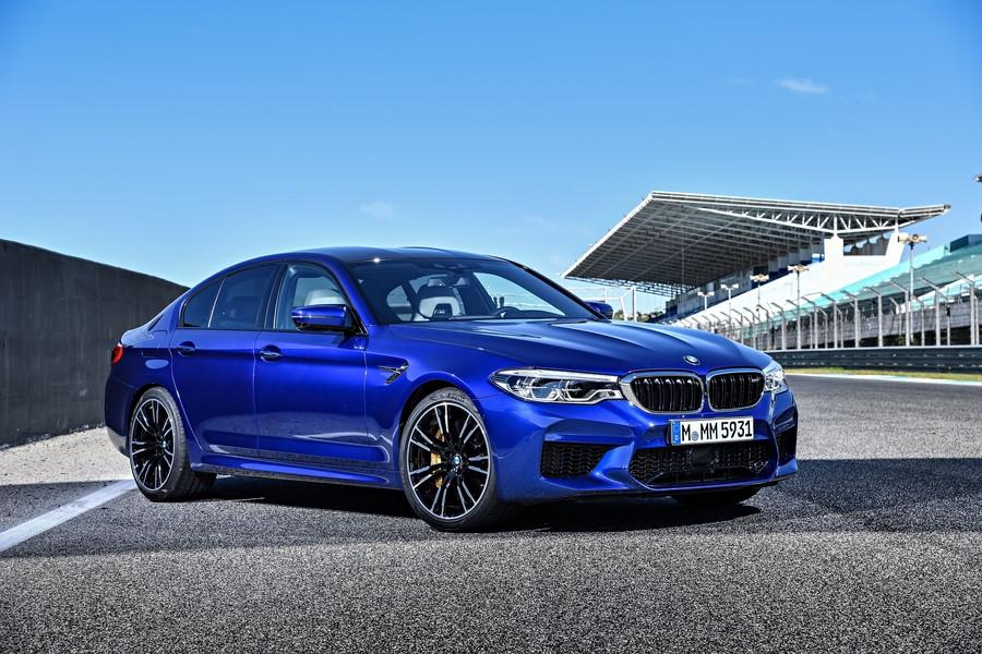 Фотообои Синий BMW