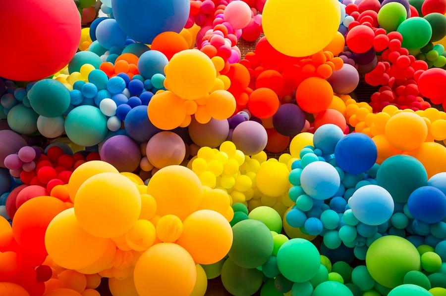 Фотообои Надувные шарики