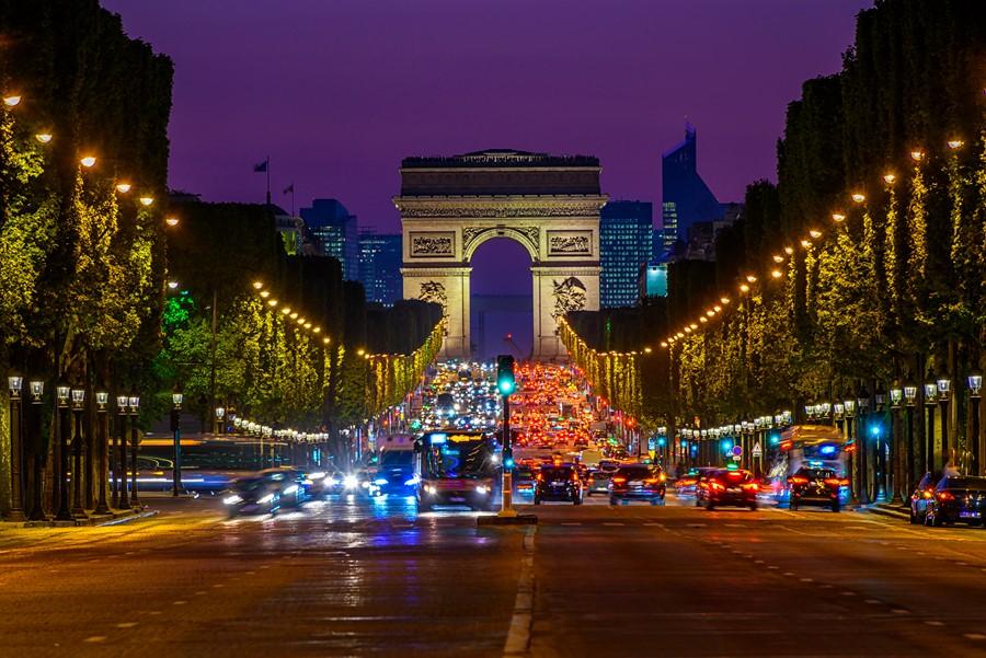 Фотообои Триумфальная арка Париж