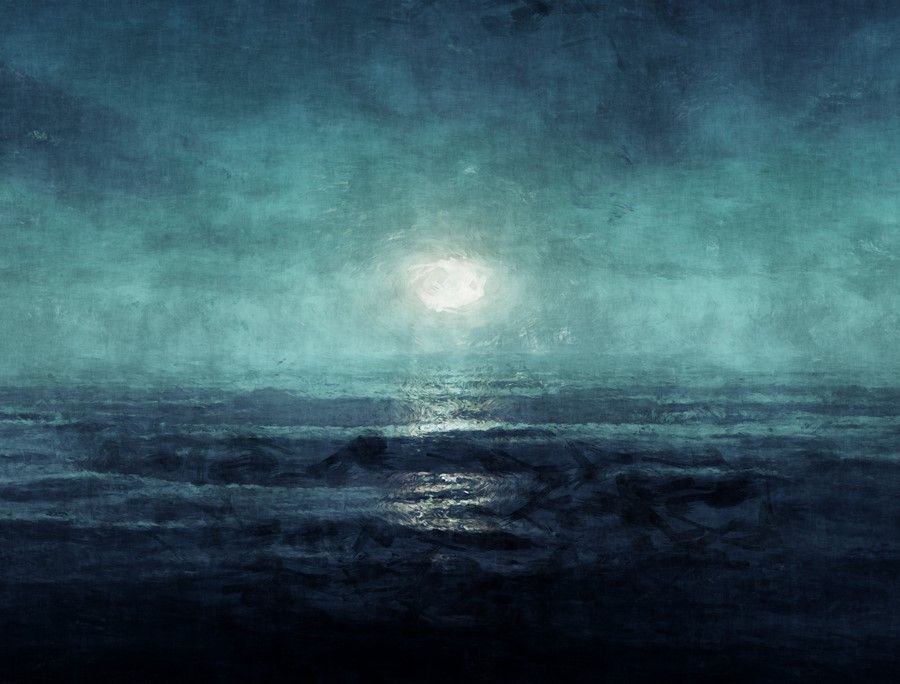 Фотообои Ночной океан