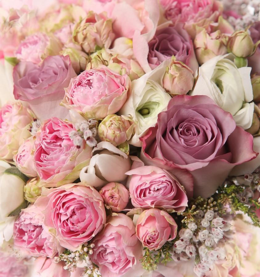 Фотообои Розовый букет