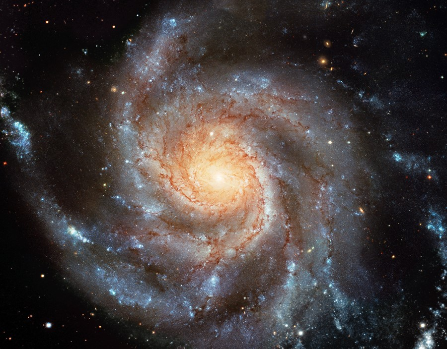 Фотообои Спиральная Галактика