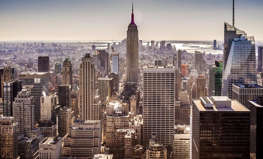 Фотообои Вид на Нью-Йорк