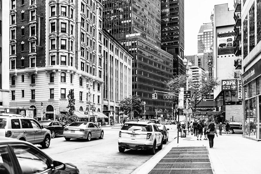 Фотообои Улица Манхеттена