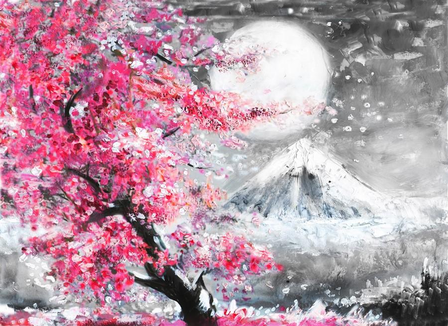 Фотообои Японская живопись