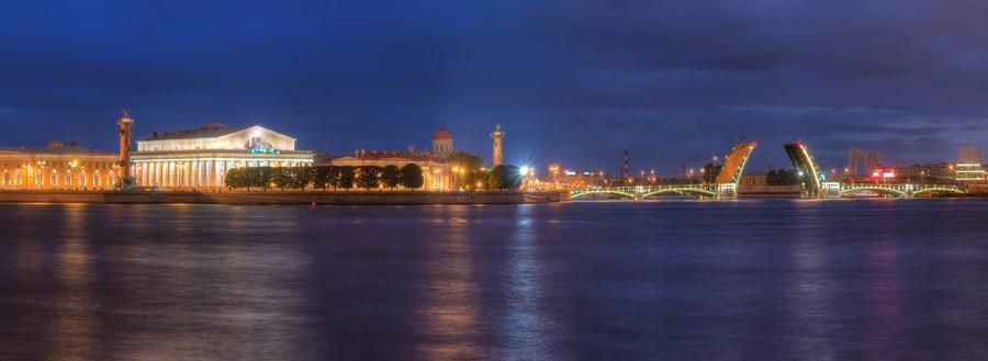 Фотообои Вид на Санкт-Петербург