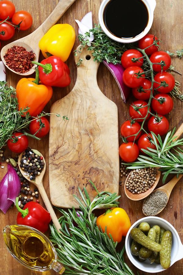 Фотообои Будущий салат