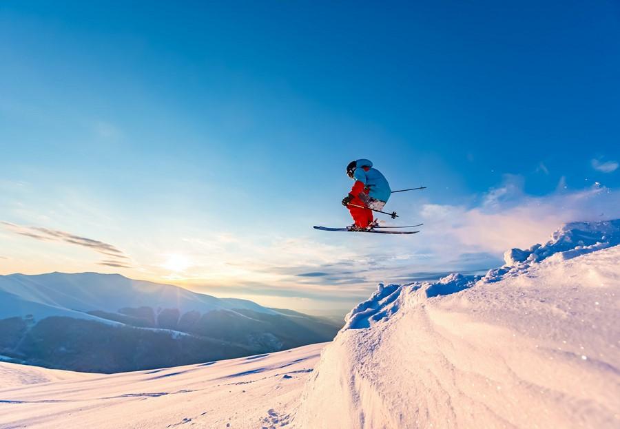 Фотообои Горные лыжи