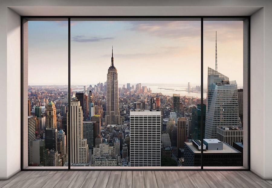 Фотообои Окно Нью-Йорка