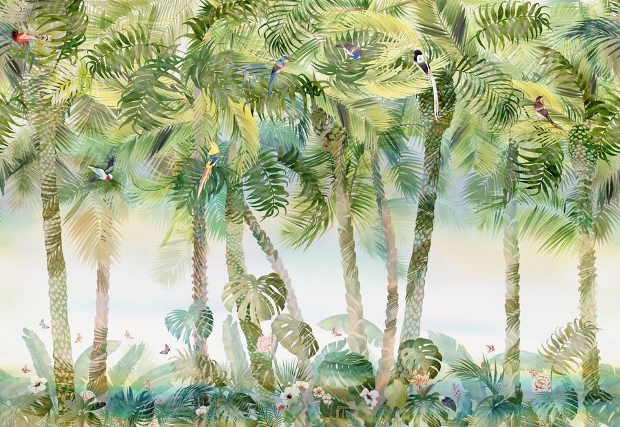 Фотообои Пальмы в тропиках