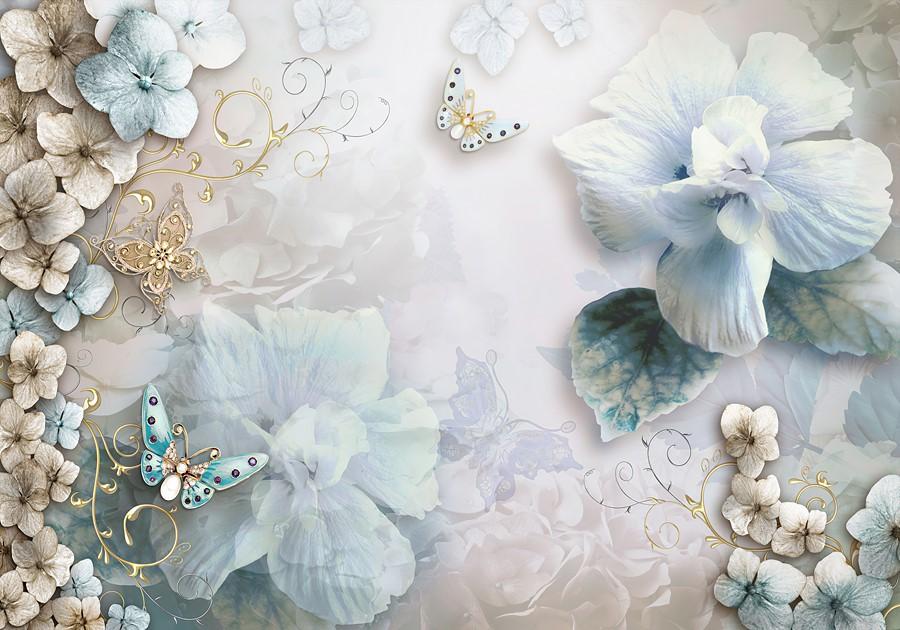 Фотообои Изысканные цветы