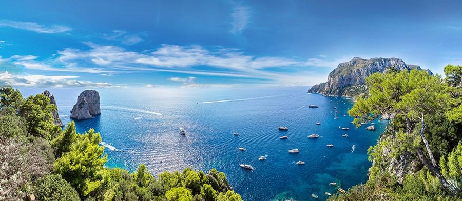 Фотообои Остров Капри