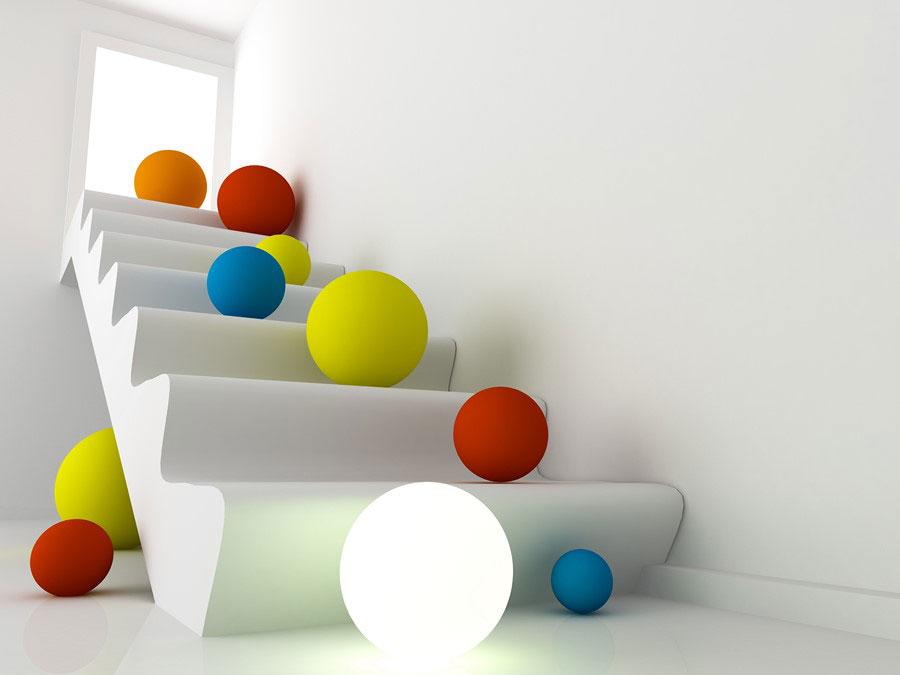 Фотообои Цветные шары