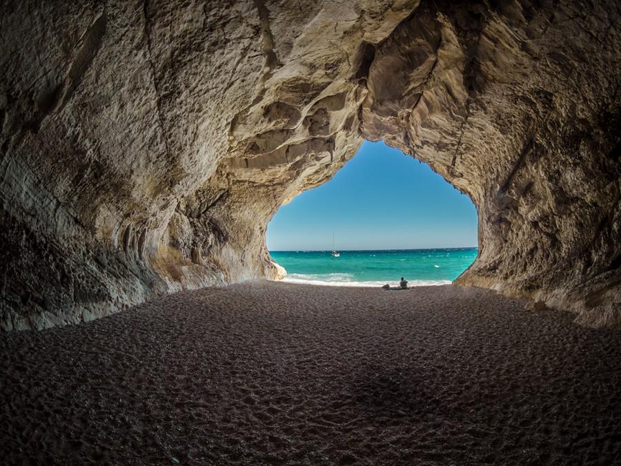 Фотообои Пещера у моря