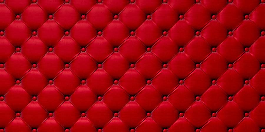 Фотообои Красная обивка