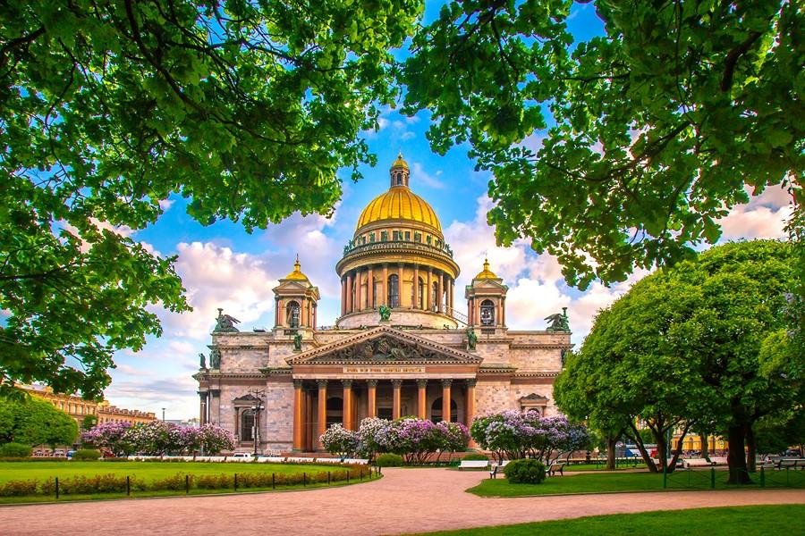 Фотообои Исаакиевская площадь