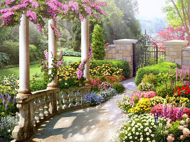 Фотообои Прекрасный сад