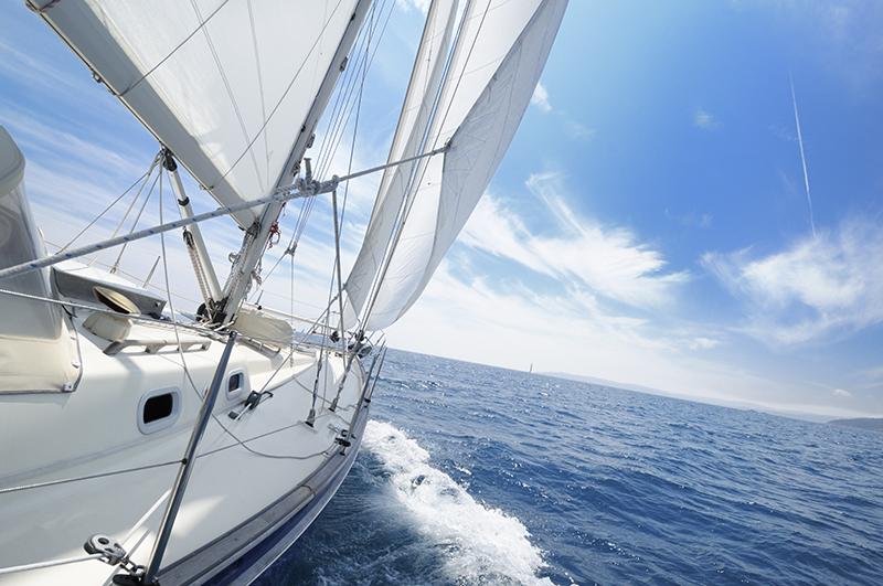 Фотообои Яхта на парусе