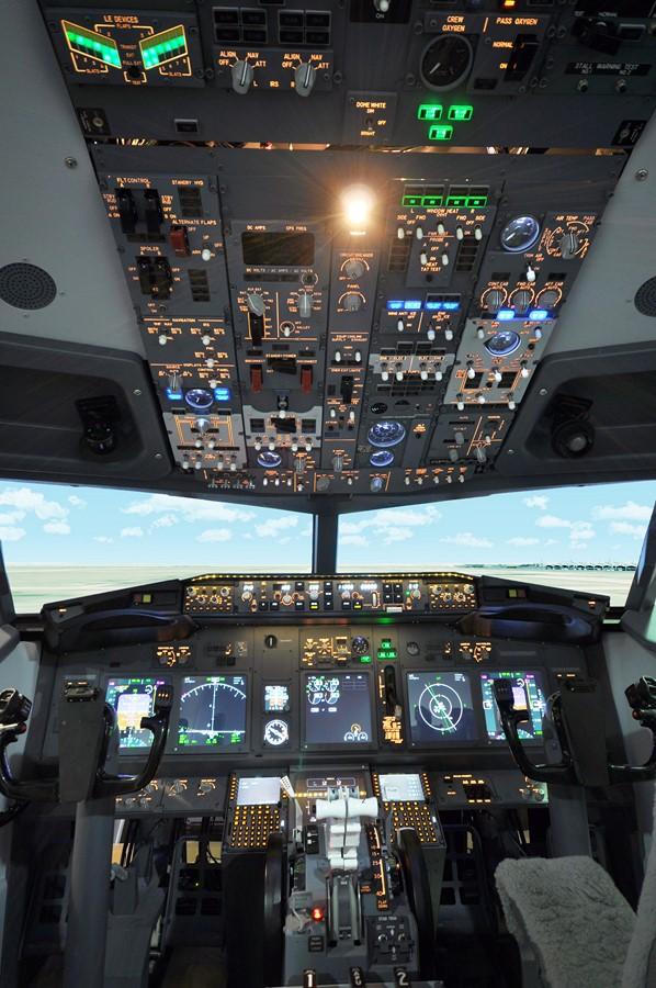 Фотообои Кабина самолёта
