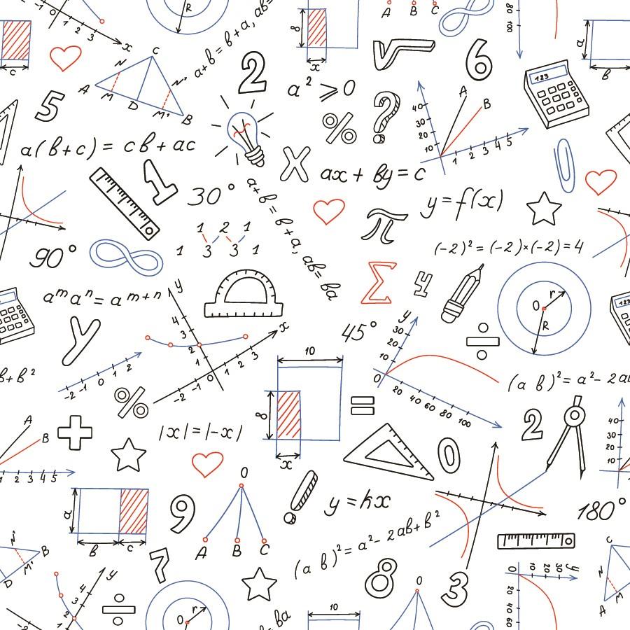 Фотообои Математика