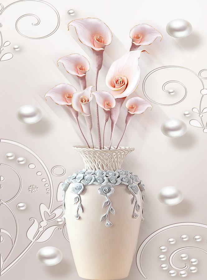 Фотообои Хрустальная роза