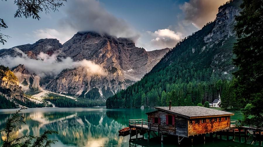 Фотообои Озеро Брайес