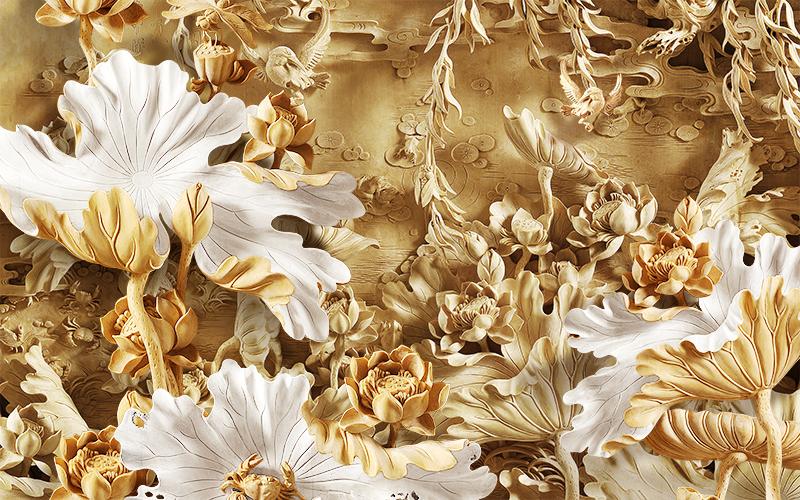 Фотообои Сухоцветы
