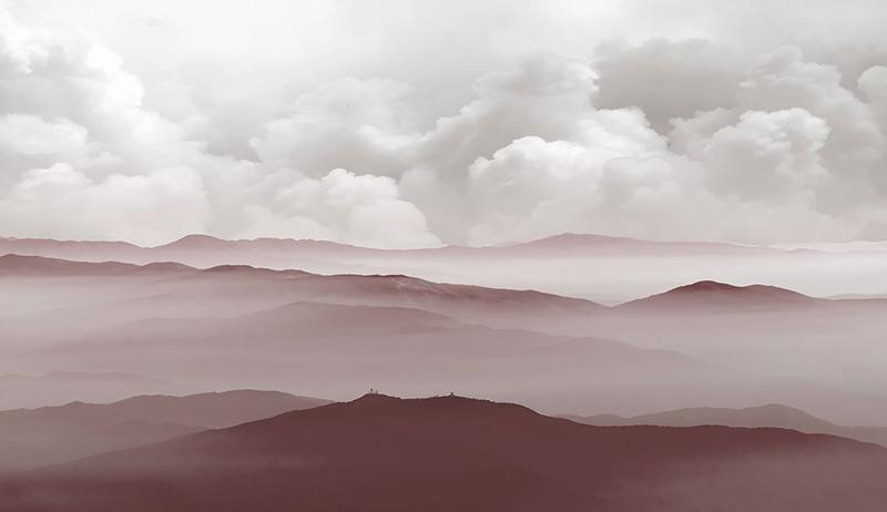Фотообои Туманная пустыня
