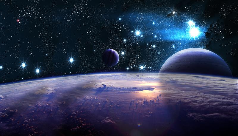 Фотообои Тёмная вселенная