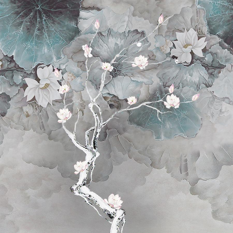 Фотообои Дерево с цветками