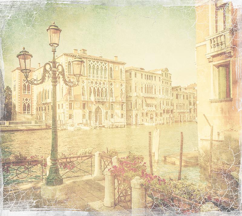 Фотообои Старинная Венеция